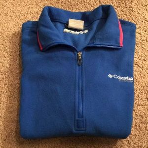 Womens Columbia Titanium Fleece Quarter Zip